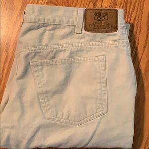 Soft brushed jeans